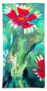 East Texas Wild Flowers Beach Towel