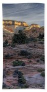 East Zion Canyon Sunrise Beach Towel