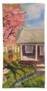 Easter At My House Beach Towel