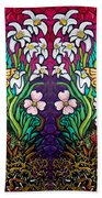 Easter Banner Beach Towel