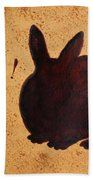 Easter Golden Egg And Chocolate Bunny Beach Towel