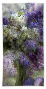 Easter Lilacs Beach Towel