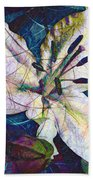 Easter Lily Beach Sheet
