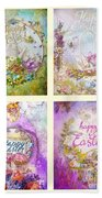 Easter Mood Collection Beach Towel