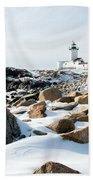 Eastern Point Light II Beach Towel