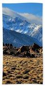 Eastern Sierras 2 Beach Towel