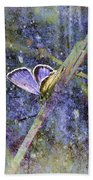 Eastern Tailed Blue Beach Towel