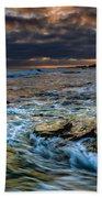 Ebb And Flow II Beach Towel