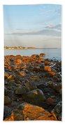 Ebb Tide On Cape Cod Bay Beach Towel