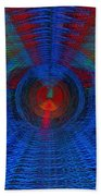 Echo Chamber Squared Beach Towel