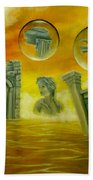 Echoes Of The Past Beach Towel
