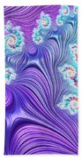 Eclectic Ripples Beach Towel