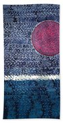 Eclipse Original Painting Beach Towel