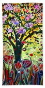 Eden Garden Beach Towel