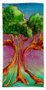 Eden's Tree Beach Towel