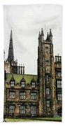 Edinburgh Architecture 3 Beach Towel