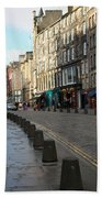 Edinburgh Royal Mile Street Beach Towel