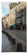 Edinburgh Royal Mile Street Beach Sheet