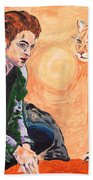 Edward Cullen And His Diet Beach Towel