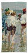 Edward Henry Potthast 1857 - 1927 Summer Day, Brighton Beach Beach Towel