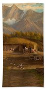 Edward Hill 1843-1923 Adamsons Ranch, Utah Beach Towel