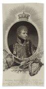 Edward Scriven 1775-1841 His Royal Highness The Duke Of Cumberland. 1807 Beach Towel