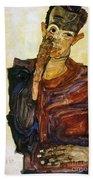 Egon Schiele (1890-1918) Beach Towel