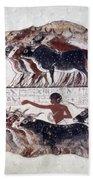 Egypt: Tomb Painting Beach Towel
