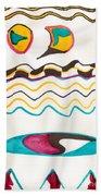 Egyptian Design Beach Towel