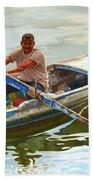 Egyptian Fisherman Beach Towel