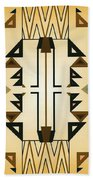 Egyptian Moderne Beach Sheet