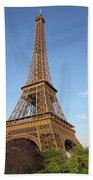 Eiffel Beach Towel