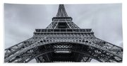 Eiffel Tower 3 Beach Towel
