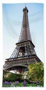 Eiffel Tower 4 Beach Towel