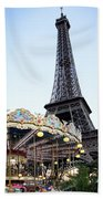 Eiffel Tower 7 Beach Towel