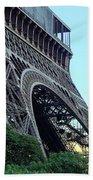 Eiffel Tower 8 Beach Towel