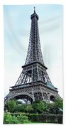 Eiffel Tower 9 Beach Towel