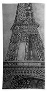 Eiffel Tower Beach Towel