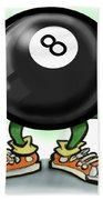 Eightball Beach Towel