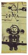 Eighties Rewind  Beach Towel