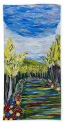 El Camino - Primavera - The Path - Spring Beach Towel