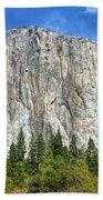 El Capitan In Yosemite National Park Beach Towel