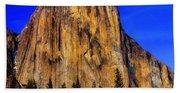 El Capitan Mountain Beach Towel