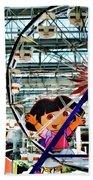 El Circulo De Cielo Ferris Wheel Beach Towel