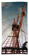 El Galeon  Beach Towel