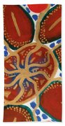 Elec Flower Beach Towel