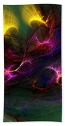 Electric Abstract 052510 Beach Towel