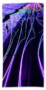 Electric Avenue Beach Towel