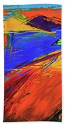 Electric Color Beach Towel