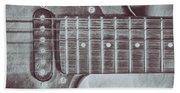 Electric Guitar Beach Sheet